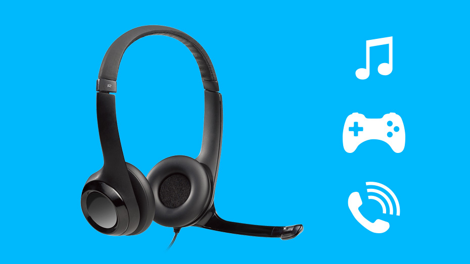 Logitech H390 headset Digital Stereo Sound