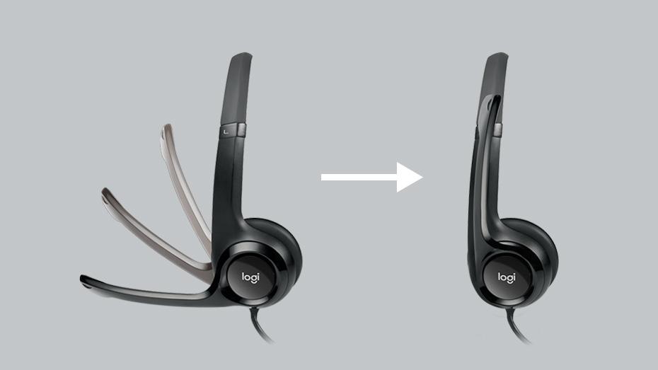 Logitech H390 headset Noise Canceling Mic